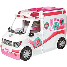 Barbie Care Clinic Vehicle - Doll