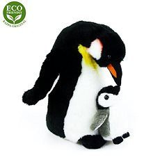 Rappa Plush Penguin with chick - Plush Toy