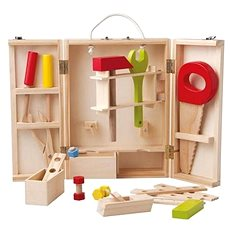 Woody Tools in a wooden box - Educational toy