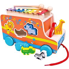 Bino Auto xylophone - Toy Vehicle