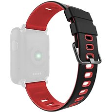 IMMAX for watches SW9, black and red - Watch band