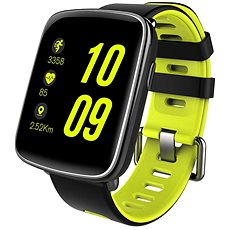 IMMAX SW9 black and green - Smartwatch