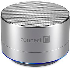 CONNECT IT Boom Box BS500S Silver - Bluetooth speaker