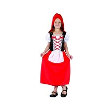 Carnival Dress - Red Riding Hood Size M - Children's costume