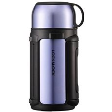 Lock & Lock Thermos bag with 1.2l sapphire-gold cup - Thermos
