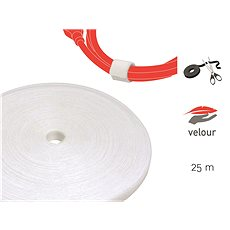 LABEL THE CABLE LTC PRO Roll 1220 White 25m - Cable Management