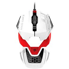 Mad Catz RAT 1 white-red - Gaming mouse