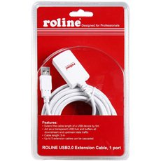 ROLINE USB 2.0 Extension AA Active - Data cable