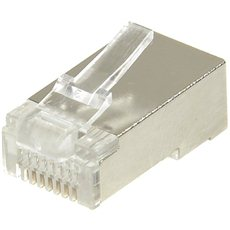 Datacom, RJ45, CAT5E, STP, 8p8c, shielded, not folded, wire - Connector