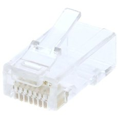 Datacom, RJ45, CAT6, UTP, 8p8c, Unshielded, Modular, Twisted Wiring - Connector