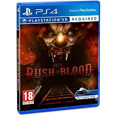 PS4 - Until Dawn: Rush of Blood - Console Game