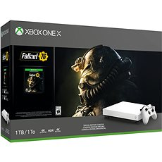 Xbox One X Robot White Special Edition Fallout 76 - Game Console