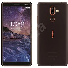 Nokia 7 Plus Black Dual SIM - Mobile Phone