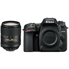 Nikon D7500 black + 18-300mm VR f/6.3 lens - Digital Camera