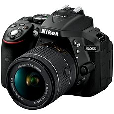 Nikon D5300 + 18-55mm Lens AF-P VR - DSLR Camera