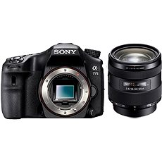 SONY Alpha 77M II + 16-50mm lens - Digital Camera