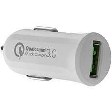 AVACOM CarMAX car charger with QC3.0, white - Car Charger