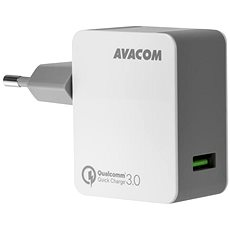 AVACOM HomeMAX Network Charger QC3.0, White - Charger