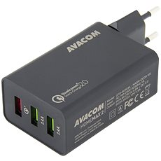 AVACOM HomeMAX 2 s Qualcomm Quick Charge 2.0 black - Charger