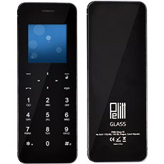 Pelitt BT1 Glass Black - Mobile Phone