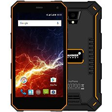 myPhone HAMMER Energy 3G orange-black - Mobile Phone