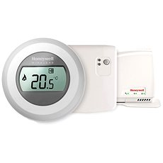 Honeywell Evohome Round Termostat + Relay Module + Gateway - Smart Room Thermometer