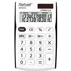 REBELL SHC 312 white/black - Calculator