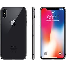 iPhone X 64GB Space Grey - Mobile Phone