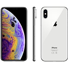 iPhone Xs 512GB Silver - Mobile Phone