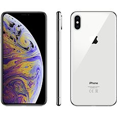 iPhone Xs Max 256GB Silver - Mobile Phone