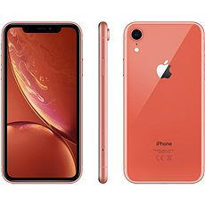 iPhone Xr 64GB Coral - Mobile Phone