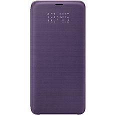 LED View Cover for Samsung Galaxy S9+ violet - Mobile Phone Case