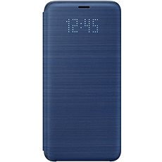 Samsung Galaxy S9 LED Display Cover Blue - Mobile Phone Case