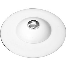 FALA Silicone washbasin outlet with white filter - Accessories