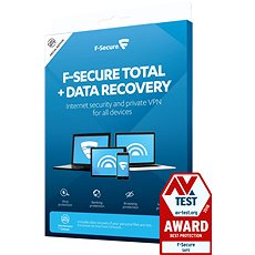 F-Secure SAFE DR for 1 device for 2 years + Data Recovery for 1 device for 2 years (electronic lic -  Electronic licenses