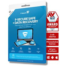 F-Secure SAFE DR for 5 devices for 2 years + Data Recovery for 1 device for 2 years (electronic lic -  Electronic licenses