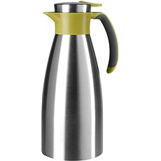 Tefal Jug 1.5l SOFT GRIP stainless steel - green - Thermos
