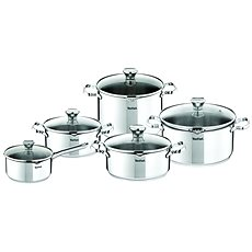 Tefal Set of pots 10pc Duetto A75SC84 - Pot Set