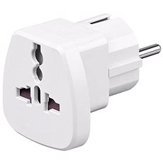 Goobay UK->EU Power Adapter white - Travel Power Adapter