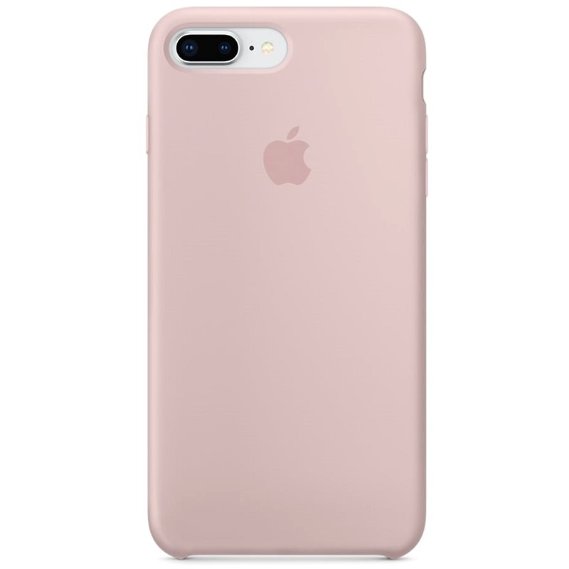 iPhone 8 Plus/7 Plus Silicone Cover Pink Sand - Mobile Case