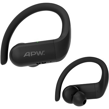 AlzaPower BENDERS Black - Wireless Headphones
