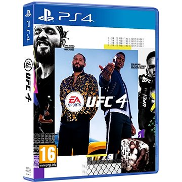 UFC 4 - PS4 - Console Game