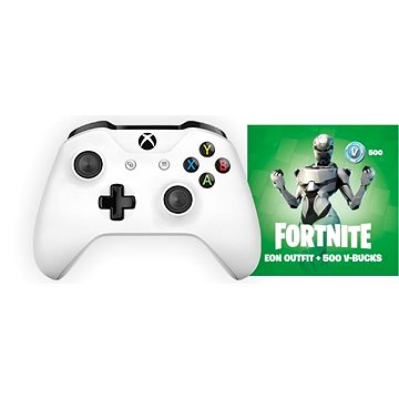 How To Play Pc Fortnite With Xbox Controller Xbox One Wireless Controller White Fortnite Eon Bundle Gamepad Alza Co Uk