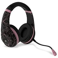 4Gamers Rose Gold Edition Gaming Headset - Abstract Black - PS4 - Gaming Headset