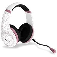 4Gamers Rose Gold Edition Gaming Headset - Abstract White - PS4 - Gaming Headset