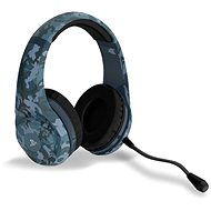 4Gamers Camo Edition Gaming Headset - Midnight - PS4 - Gaming Headset