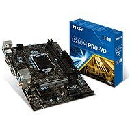 MSI B250 PRO-VD - Motherboard