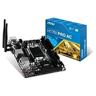 MSI H170I PRO AC - Motherboard