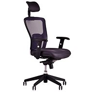 DIKE with headrest black - Office Chair