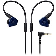 Audio-technica ATH-LS50iS Navy Blue - Headphones with Mic
